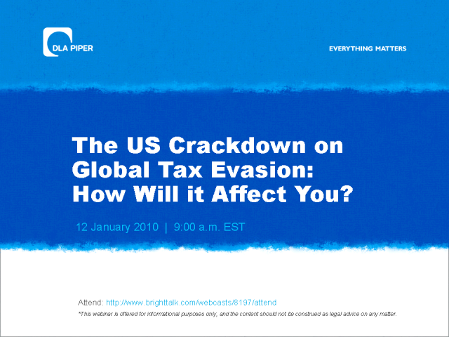 The US crackdown on global tax evasion: How will it affect you?