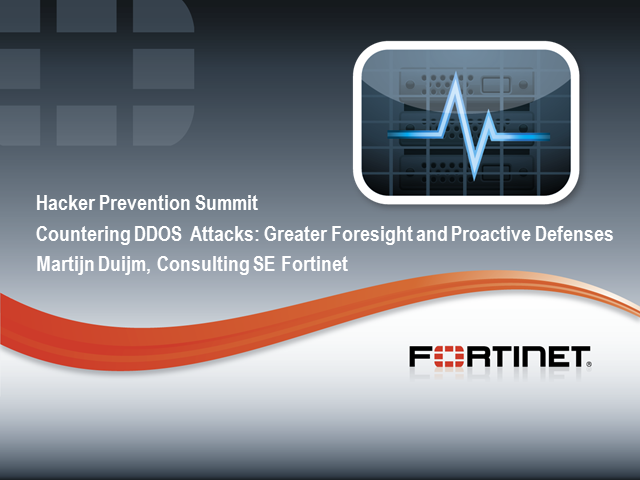 Countering DDOS Attacks: Greater Foresight and Proactive Defenses