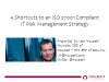 4 Shortcuts to an ISO 27001 Compliant IT Risk Management Strategy