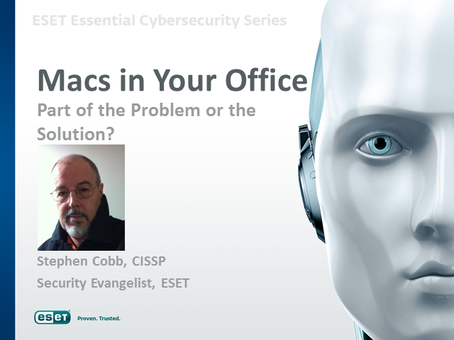 Macs in Your Office:  Part of the Problem or the Solution?