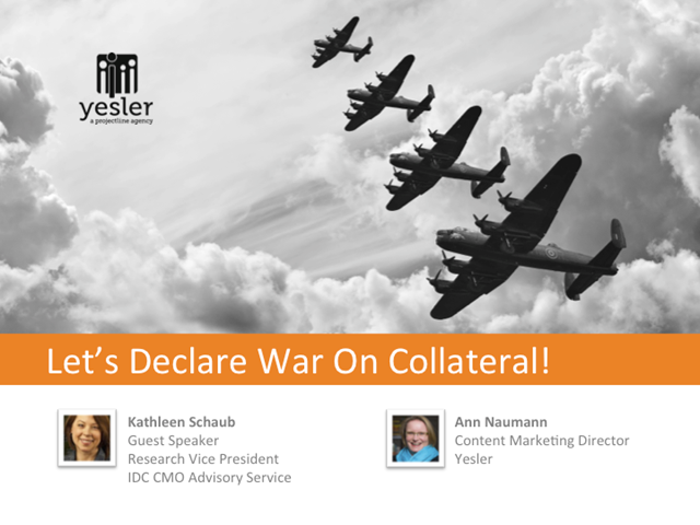 Let's Declare War on Collateral!
