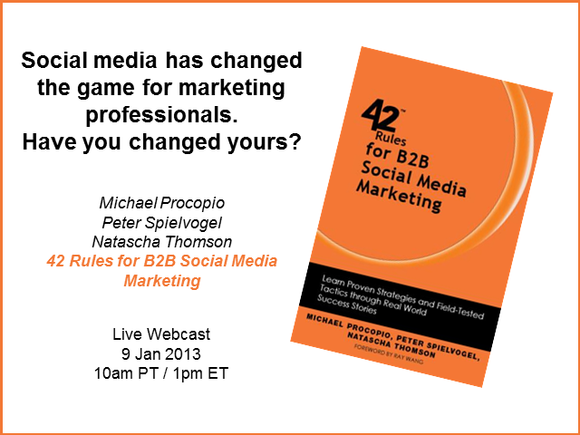 Social media has changed the game for marketing professionals.