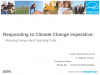 Responding to Climate Change Imperative: Reducing Energy & Costs