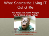 What Scares the Livin' IT Out of Me: 2013 and Beyond