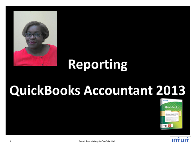 Customizable Reporting with QuickBooks Accountant