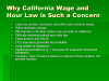 Meal Breaks and Other Hot Wage & Hour Issues in California