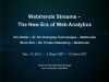 Webtrends Streams - The New Era of Web Analytics