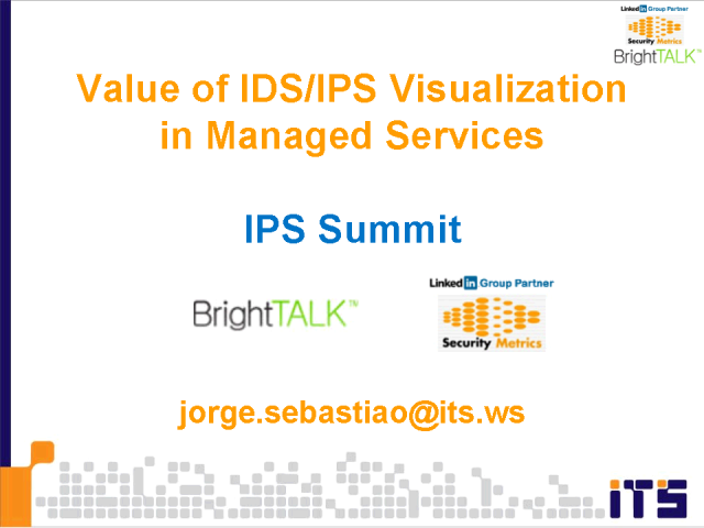 Value of IDS/IPS Visualization in Managed Services