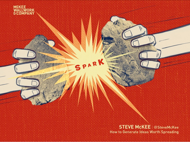 SPARK: How to Generate Ideas Worth Spreading