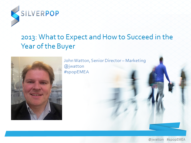 2013: What to Expect and How to Succeed in the Year of the Customer