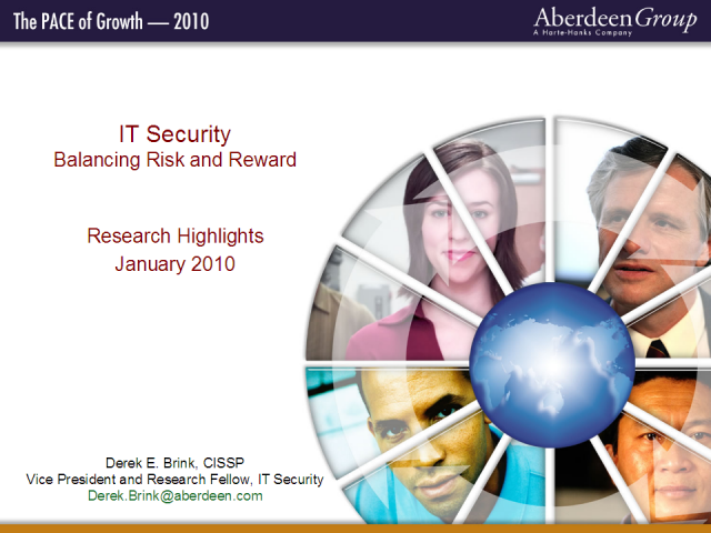 IT Security: Balancing Risk and Reward
