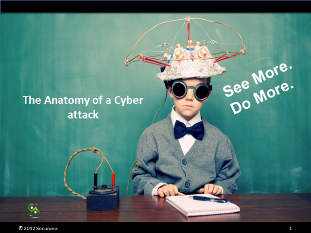 The Anatomy of a Cyber Attack - Using Behavioral Forensics for Rapid Detection