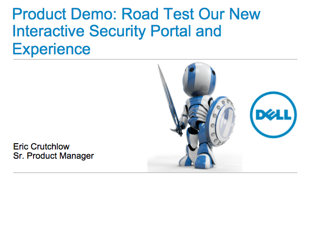 Product Demo: Road Test Our New Interactive Security Portal and Experience