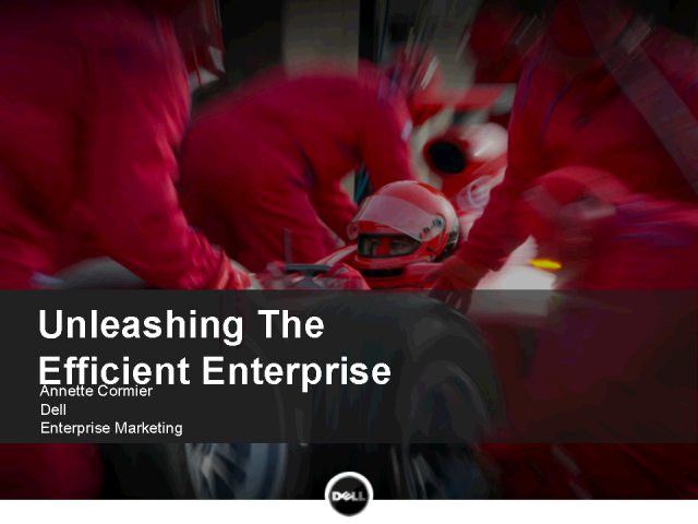 2010: The Year of Your Efficient Enterprise