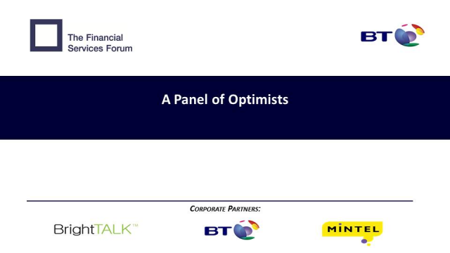 Charting a safer passage: A Panel of Optimists