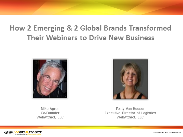 How 2 Emerging & 2 Global Brands Transformed Webinars to Drive New Business