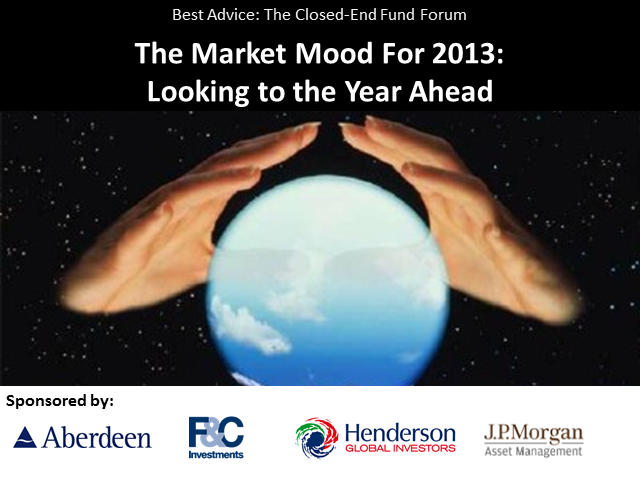 The Market Mood at the Start of 2013