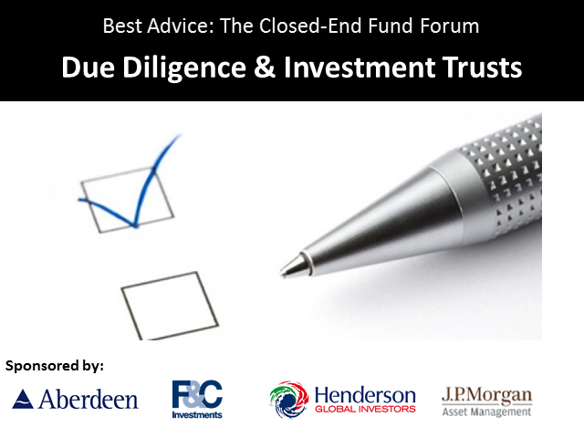 Due Diligence & Investment Trusts