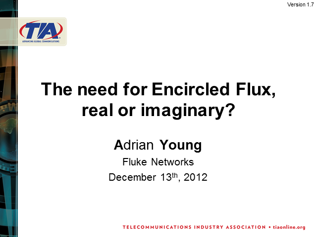 The Need for Encircled Flux: Real or Imaginary?