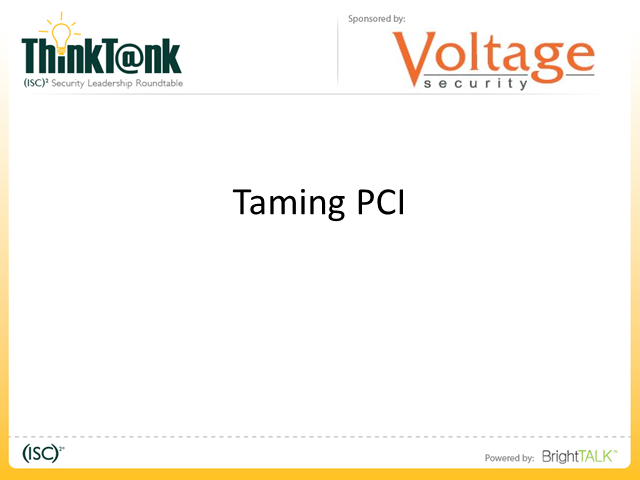 Taming the PCI Beast