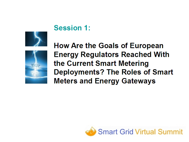 The Roles of Smart Meters and Energy Gateways