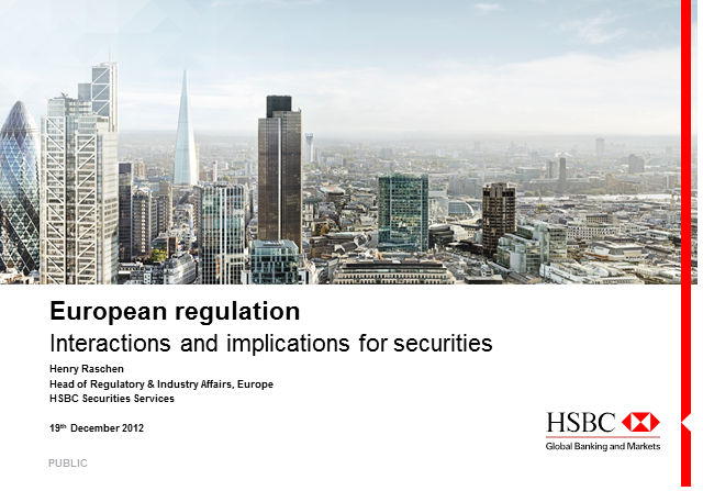 Current regulation: interactions and implications