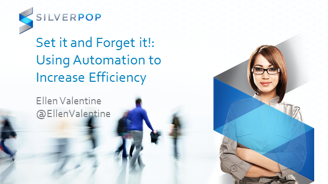 Set it and Forget it!: Using Automation to Increase Efficiency - and Improve R