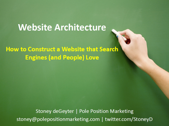 How to Construct a Website that Search Engines (and People) Love
