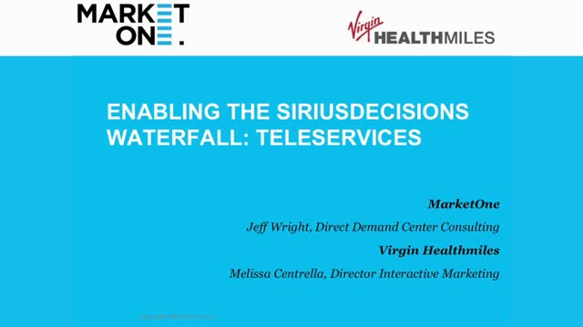 Integrating Telesales & The New Sirius Waterfall