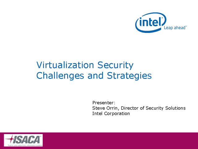 Virtualization Security Challenges and Strategies