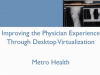 Desktop Virtualization & The Physician