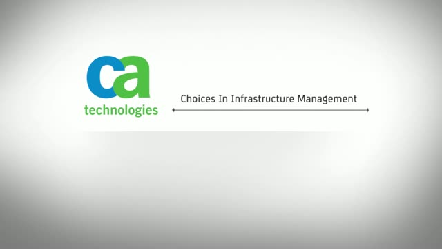 Choices in Infrastructure Management