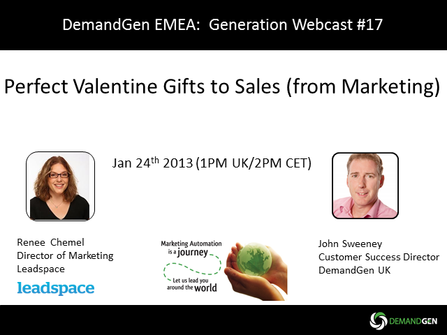 """Perfect Valentine gifts to Sales (from Marketing)"""