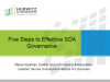 Five Steps to Effective SOA Governance
