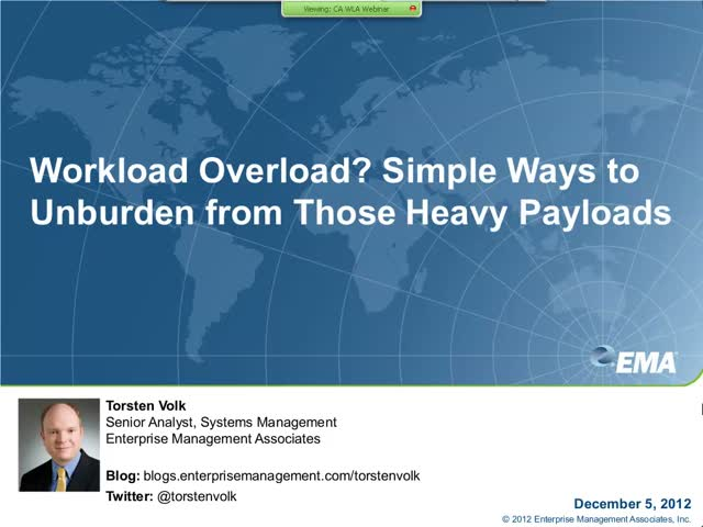 Workload Overload? Simple Ways to Unburden From Those Heavy Payloads!