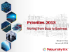 Priorities 2013: Moving from Buzz to Business