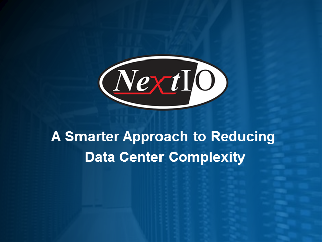 A Smarter Solution to Reducing Data Center Complexity