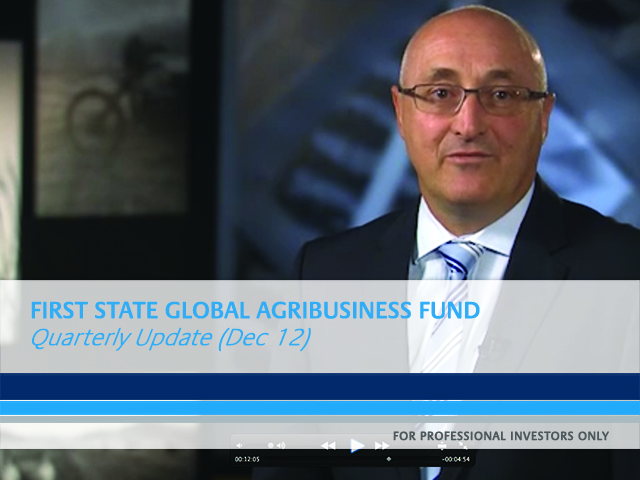 Global Agribusiness quarterly fund update