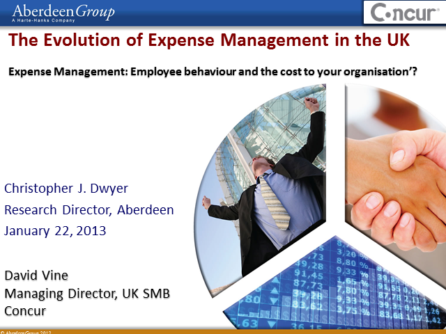 The Evolution of Expense Management in the UK