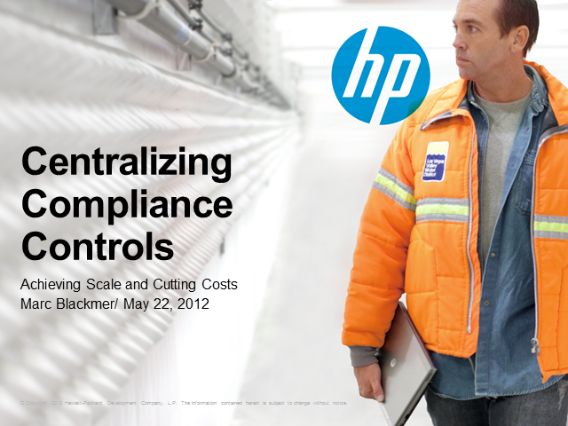 Centralizing Compliance Controls: Achieving Scale and Cutting Costs