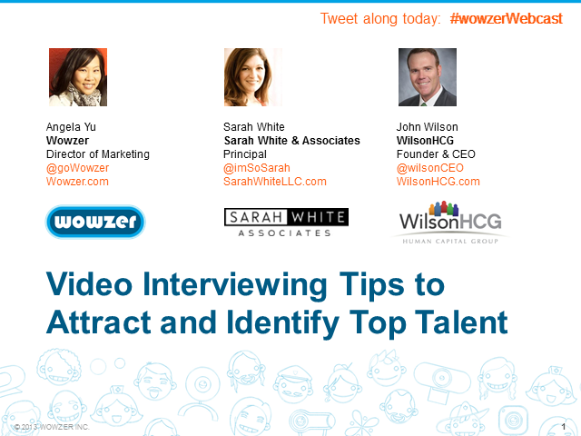 Video Interviewing Tips to Attract and Identify Top Talent