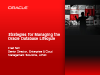 Enterprise Manager 12c - A Comprehensive Database Lifecycle Management Solution