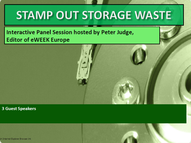 Stamp Out Storage Waste