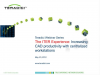 The ITER Experience:  Increasing CAD productivity with centralized workstations