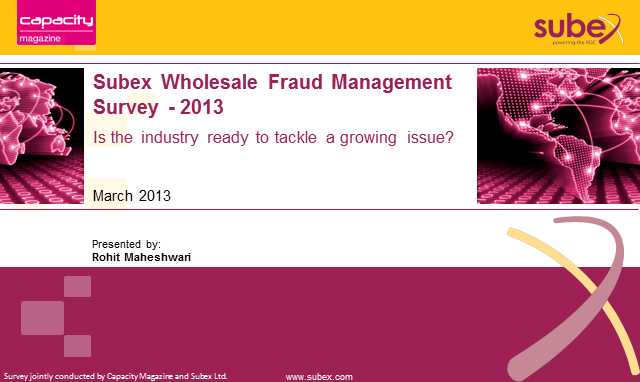 Wholesale Fraud Management Webinar 2013
