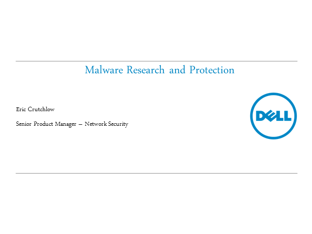 Under the hood: Malware research and protection
