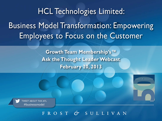Business Model Transformation: Empowering Employees to Focus on the Customer