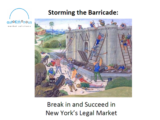 Breaking Into the New York Legal Market