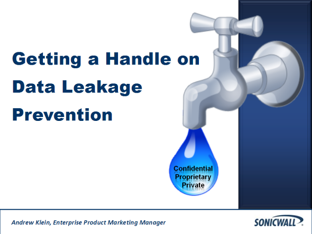 Getting a Handle on Data Leakage Prevention