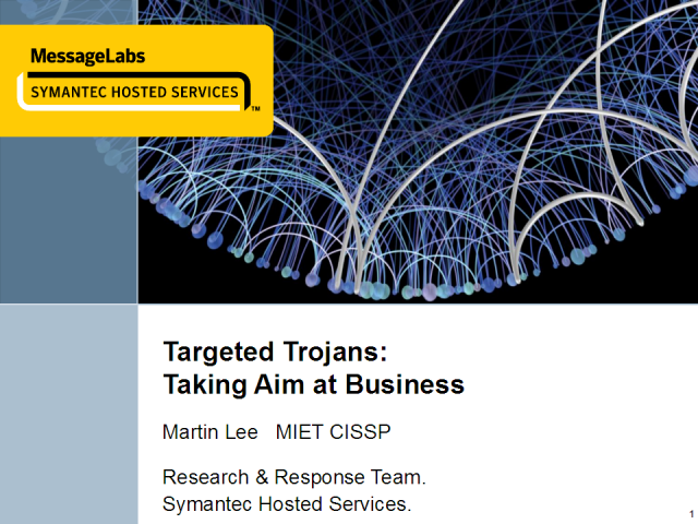 Targeted Trojans: Don't Fall Victim
